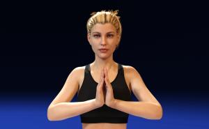 Yoga Victoria8 Daz3D